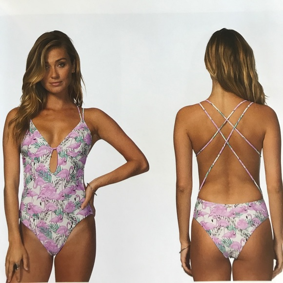 1521147017d49 Rip Curl Flamingo Mai Tai One Piece